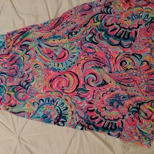 Lilly Pulitzer Skirt Psychedelic Sunshine